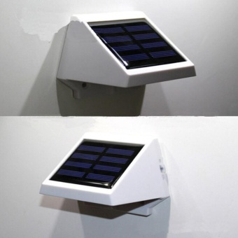 LED Solar Light Energy Saving Outdoor Lighting LED Solar Lamp Waterproof IP65 Light Control Wall Lamps For Path Garden - intl - 2