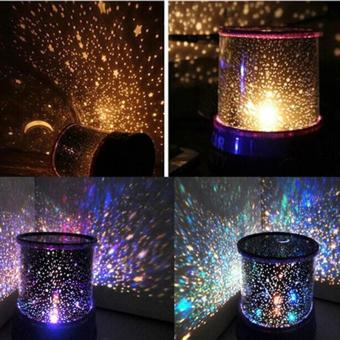 LED Starry Night Sky Projector Lamp Star Light Master Great Gift Romantic - intl