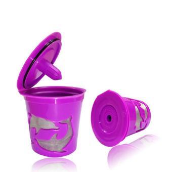 Leegoal Keurig Kcup Reusable Filter Cup For Keurig 2.0 And 1.0Brewers - Purple - intl - 2