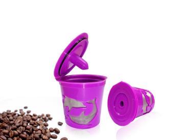 Leegoal Keurig Kcup Reusable Filter Cup For Keurig 2.0 And 1.0Brewers - Purple - intl