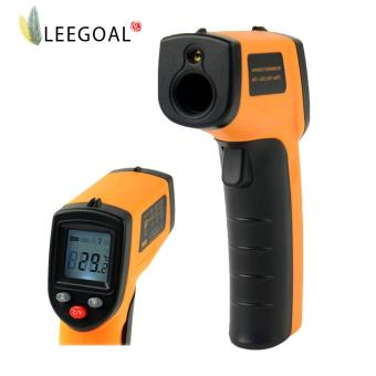 leegoal Non-contact Digital Infrared IR Thermometer Temperature (Orange) - intl