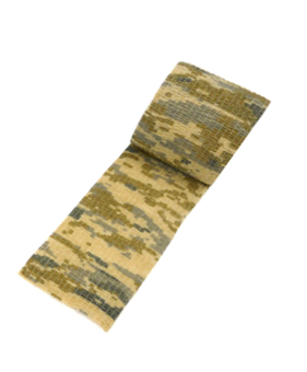 Leegoal Outdoor Cloth Camo Tape Camouflage Duct Tape 1.96 Inch By 4.92 Yard Single Roll(Desert Camo) - intl