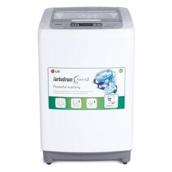 LG WF-T906STG 9.0 kg Top Load Washing Machine (White/Silver)