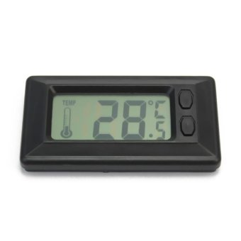 Lgpenny Useful LCD Screen Display Home Room Indoor Digital Wall Temperature Thermometer - intl