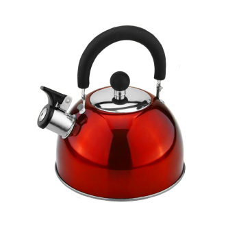 Lifestyle Induction Whistling Kettle 2L Red (ILSWK-20R)