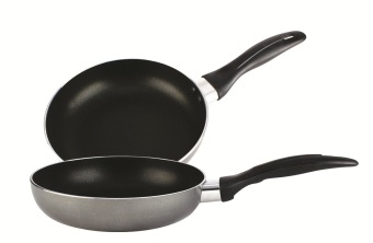 Lifestyle Non-Stick Open Induction Fry Pan 30cm Set of 2