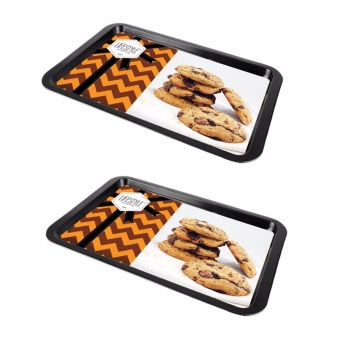 Lifestyle Small Cookie Sheet Set of 2 Black (CN9706S)