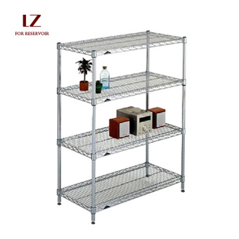 Liuzhengxuan 100 cm x 40 cm 4-layer Floor Kitchen Storage Rack