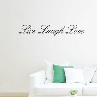 Marvelous Live Laugh Love Quotesl Words Home Decor Wall Sticker 10cm*57cm Part 22