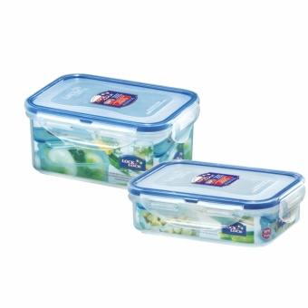 Lock & Lock 2PC. Lunch Set - Rectangle (Classic)