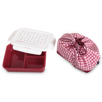Lock&Lock container lunch box microwave food plastic crisper