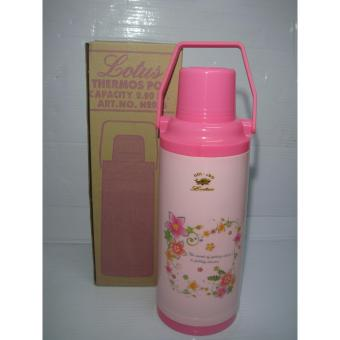 Lotus 2016 Thermos Vacuum Flask 2.2Liters - Pink Price Philippines