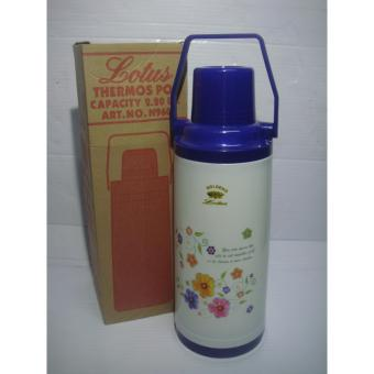 Lotus 9606 Thermos Vacuum Flask 2.2Liters -Blue Price Philippines