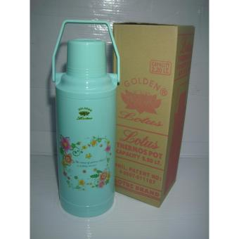 Lotus N-2010 Thermos Vacuum Flask 2.2Liters - Green Price Philippines