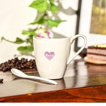 Love Heart Crescent Ceramic Mug Cups Love Mugs Fashionable CouplesCups 250ml Price Philippines