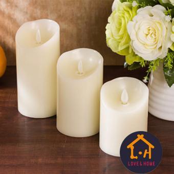 LOVE&HOME 12 LED Remote Control Color Changing Vanilla ScentCandles (Multicolor) - 2