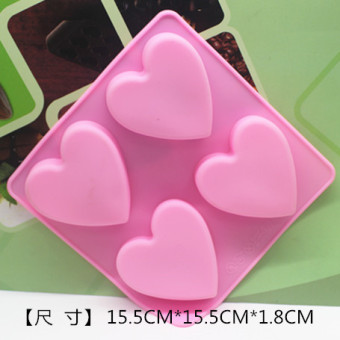 Lovely silicone cake handmade soap jelly pudding Mold