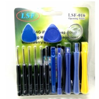 LSF-016 14 in 1 Precise Multi-function Screwdriver DisassembleOpening Shell Tools Set