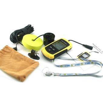 Lucky FF11081 Gain Express Portable Wired 100m Digital Sonar FishFinder - Intl - intl - 2