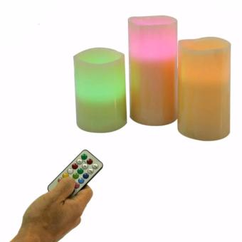 Luma Candles Flameless Changing LED Light with Remote Control Timer - 3