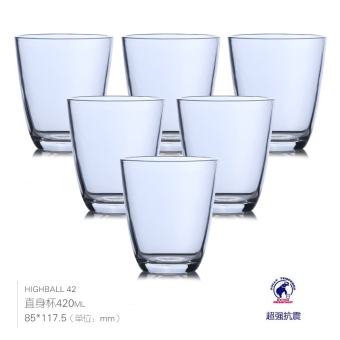 Luminarc dress home tempered glass water beer cup