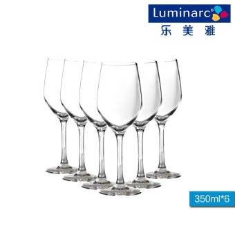 Luminarc lead-free cold cut red wine cup Glass Cup