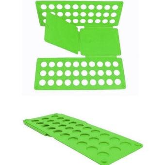 Magic Fast Clothes Folder Adjustable Adult T-Shirts Folding Board - intl - 2