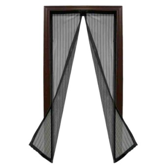 Magic Mesh Instant Screen Door (Black)
