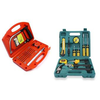 Magic Saw Multipurpose Magic Saw DIY Handy Saw 8 Blades With 12pcsProfessional Hardware Tools Set Accessory Repair Home Tool-Box KitsCase Price Philippines