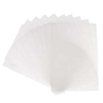 MagiDeal 10 Pieces Clear Shrink Film Sheets Shrinkable Paper for Crafts Fine Polish - intl