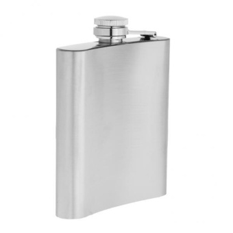 MagiDeal Portable Pocket Stainless Steel Wine Bottle Whiskey Liquor Hip Flask 200ml - intl