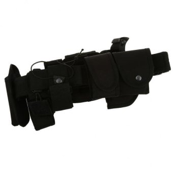 MagiDeal Utility Belt Waist Bag Security Police Guard Kit with Radio Holster Pouch - intl - 3
