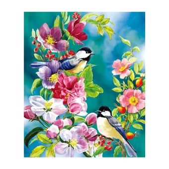 Magpie Branches 5D Diamond DIY Painting Kit Home Decor Craft - intl