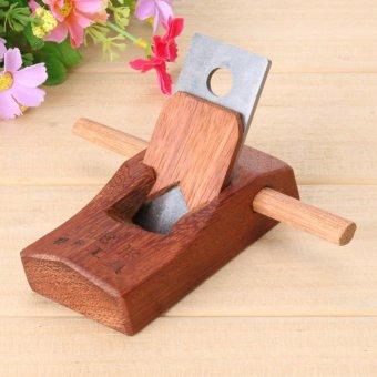 Mahogany Hand Planer Carpenter Woodworking Planing Tool(100mm) -intl - 3