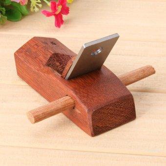 Mahogany Hand Planer Carpenter Woodworking Planing Tool(100mm) -intl - 4