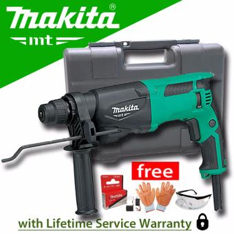 Makita M8700M Rotary Hammer SDS Plus 22mm (710W) with Carbon Brush,Gloves, and Protective Spectacles