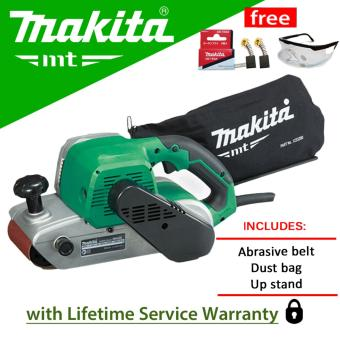 Makita MT M9400M Belt Sander (940W) with Carbon Brush andProtective Spectacles