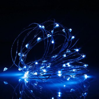 Makiyo 5M 50 LED USB Copper Wire LED String Fairy Light forChristmas Xmas Party Decor - intl