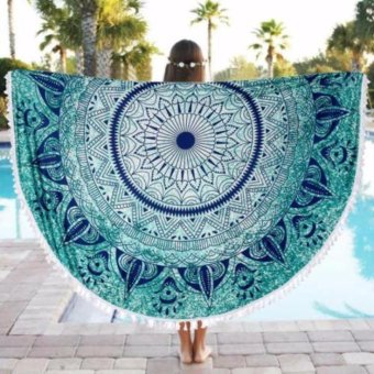 Mandala Tapestry Round Hippie Throw Wall Hanging Decor Beach Towel Yoga Mat New
