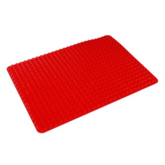 Manhattan Homemaker Cooking Mat with Silicone Glove (Red)