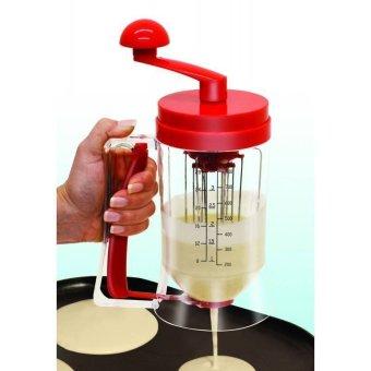 Manual Pancake Machine and Dispenser (Red)