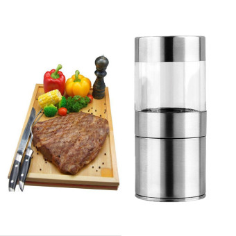 Manual Stainless Steel Salt Pepper Mill Grinder Muller Kitchen Tool