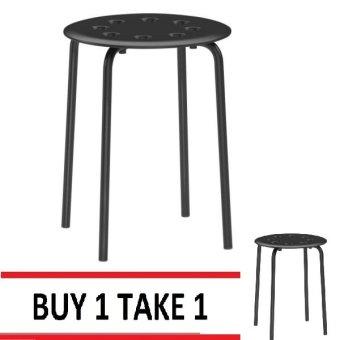Marius Stool (Black) Buy 1 Take 1 - 2
