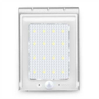 Marstec 16 Bright LED Wireless Solar Powered Motion Sensor Light Waterproof Lighting - intl - 2
