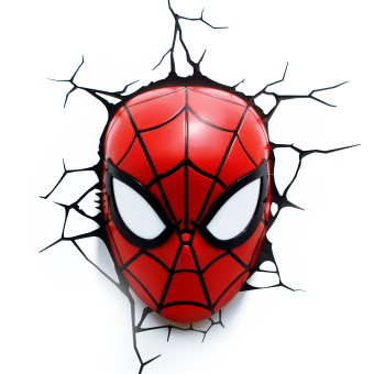 Marvel 3D Deco Light Spider-Man Mask (Red)