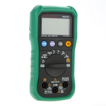 MASTECH MS8239C Auto Ranging Digital Multimeters Volt Current Resistance Frequency Temp Capacitance Tester - intl - 3
