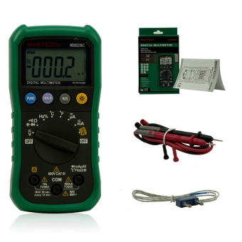 MASTECH MS8239C Auto Ranging Digital Multimeters Volt Current Resistance Frequency Temp Capacitance Tester - intl - 5
