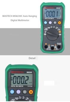 MASTECH MS8239C Auto Ranging Digital Multimeters Volt CurrentResistance Frequency Temp Capacitance Tester - intl - 4