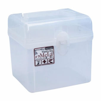 Megaware MG-602 Vanity Box Storage Organizer with Clear Handle Price Philippines