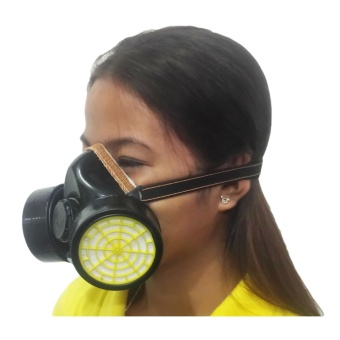 Meisons chemical respirator gas mask Double (1pcs)